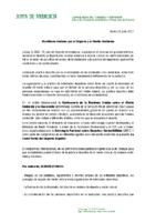 ADHESION AL MANIFIESTO POR EL DEPORTE Y EL MEDIO AMBIENTE