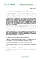 ADHESION AL MANIFIESTO POR LA IGUALDAD EFECTIVA DE LA MUJER EN EL DEPORTE
