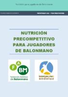 NUTRICION PARA JUGADORES DE BALONMANO