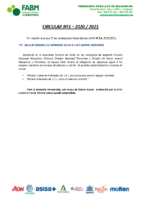 CIRCULAR-Nº3 20_21-DISPENSIÓN AGUA