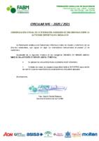 CIRCULAR-Nº6 20_21-CONFIRMACION RESTRICCIONES