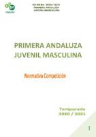 NORMATIVA 1ªAJM-TEMPORADA 20-21