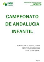 Normativa CADEBA Infantil 20-21- modificada